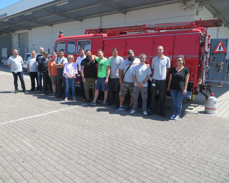 Gruppenbild Brandschutz bei IMO
